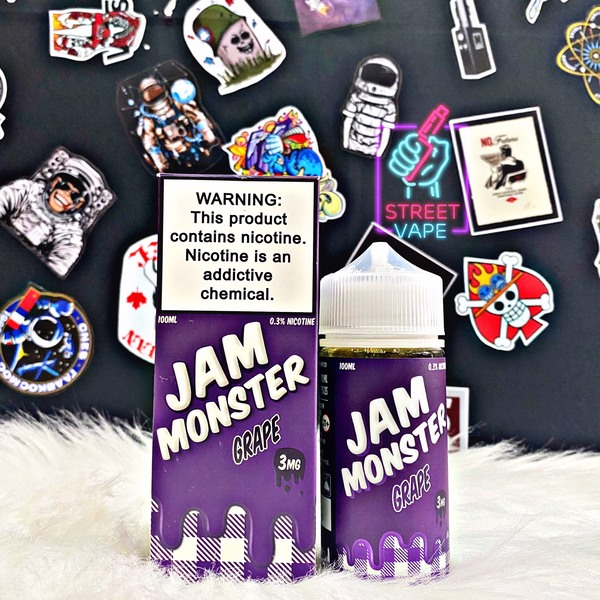 Tinh dầu Jam Monster Labs Grape | Bánh Mứt Nho | 100ml