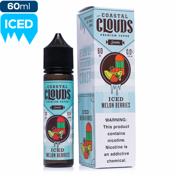 Tinh Dầu Coastal Clouds Sweet Ice Melon Berries | Dưa Hấu - Nho | 60ml
