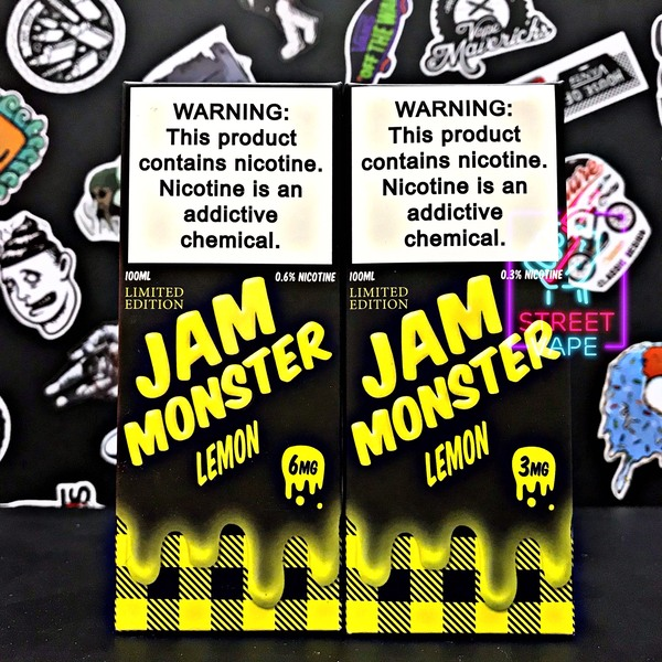 Tinh dầu Jam Monster Labs | Limited Edition Lemon | Bánh Chanh | 100ml