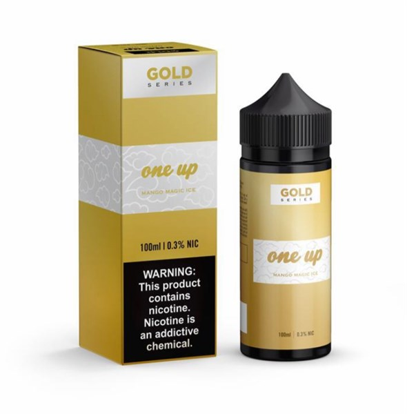Tinh dầu One Up Vapor Gold Mango Magic Ice | Xoài Lạnh | 100ml