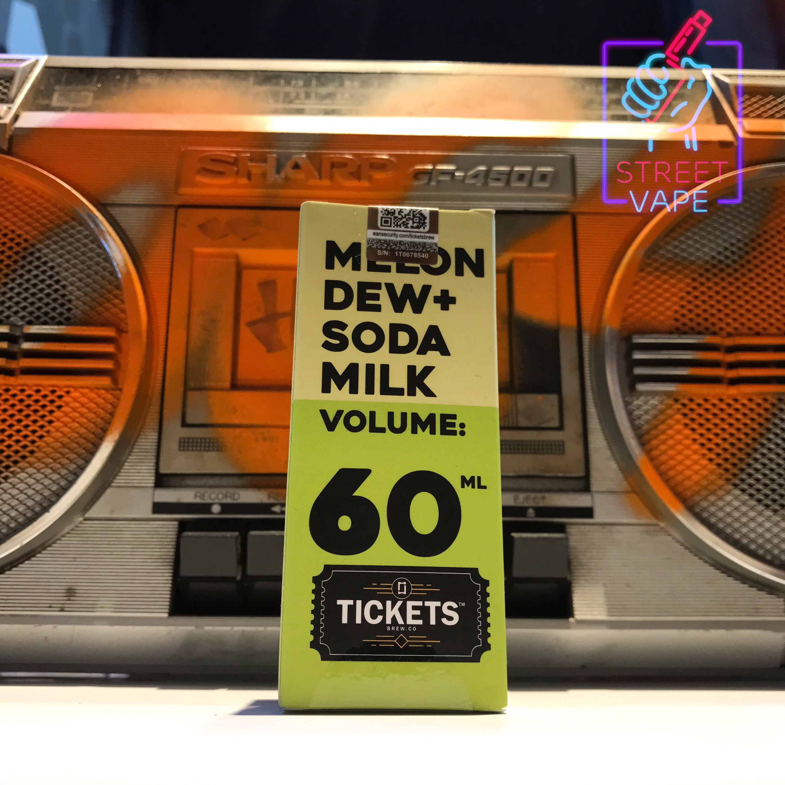 Tinh dầu Ticket Melon Dew Soda Milk | Dưa Gang - Soda Sữa | 60ml