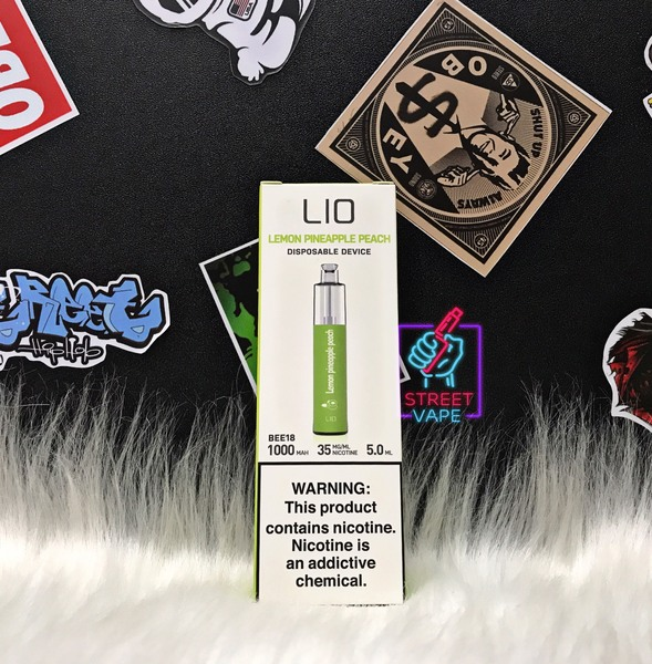 Lio Disposable Pod Lemon Pineapple Peach | Chanh - Dứa - Đào