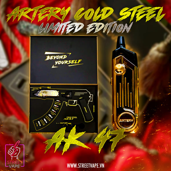 Artery Cold Steel AK47 Limited Edition 50W 1500mAh
