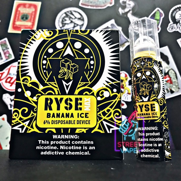 Ryse Max Disposable Device Banana Ice | Chuối Lạnh