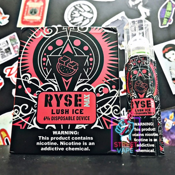 Ryse Max Disposable Device Lush Ice | Dưa Hấu Lạnh