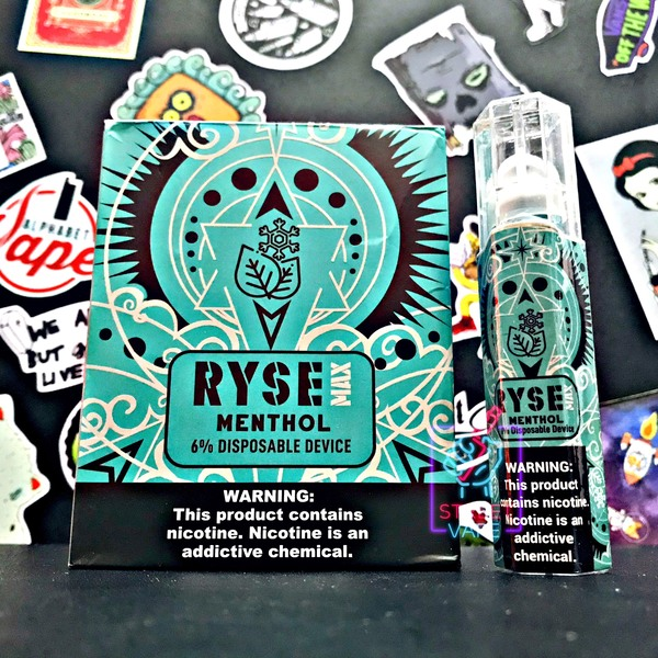 Ryse Max Disposable Menthol | Bạc Hà
