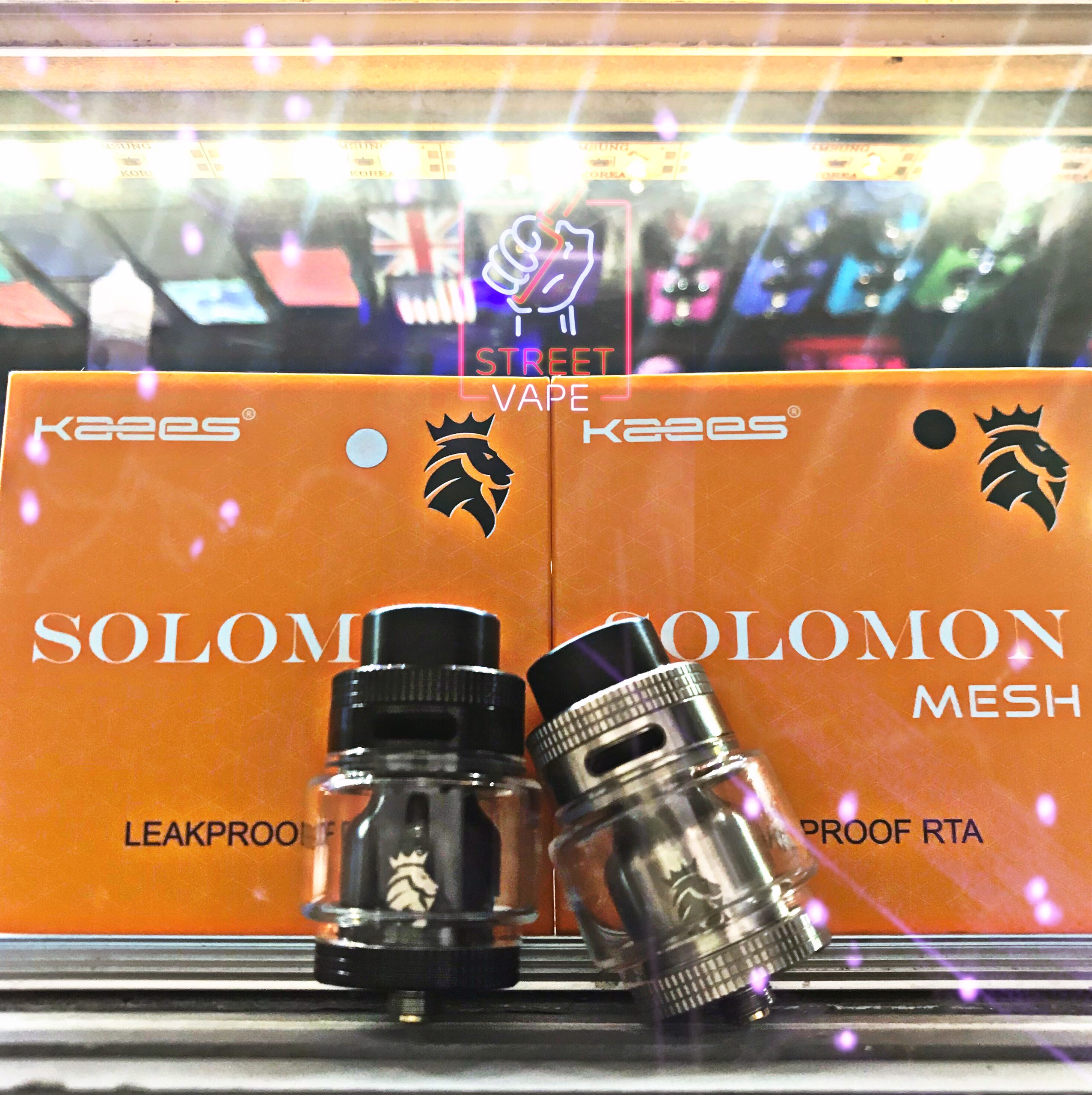 Đầu đốt Kaees | Solomon Mesh Rta 6.5ml 25mm