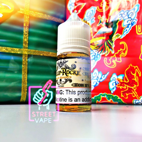Tinh dầu Phillip Rocke Grand Reserve Salt E-liquid Honey Cream | Mật Ong | 30ml