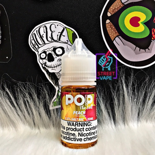 Tinh dầu Pop Clouds The Salt Peach | Đào | 30ml